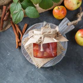 Варенье яблочное с корицей