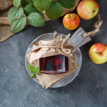 Варенье яблочно-ежевичное