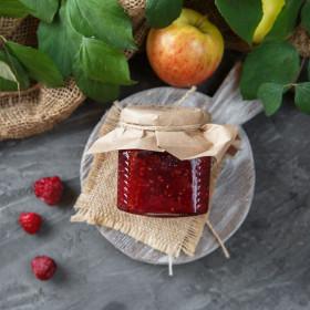 Варенье яблочно-малиновое