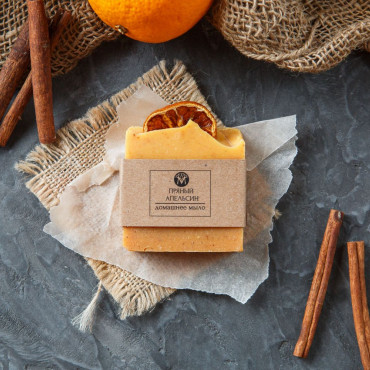 Мыло ручной работы Пряный апельсин
