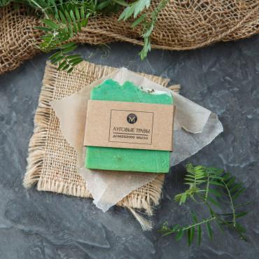 Мыло ручной работы Луговые травы