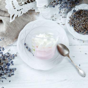 Десерт-суфле Прованс с лавандой