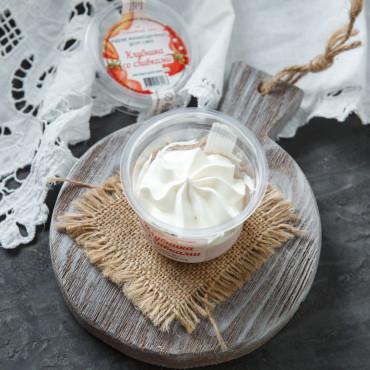 Десерт-суфле Клубника со сливками