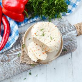 Сыр рассольный С мятой, паприкой и чили свежий
