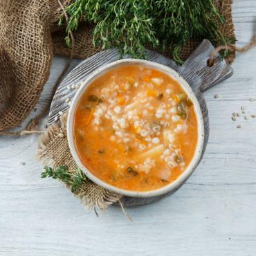 Суп Рассольник вегетарианский