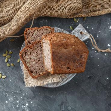 Хлеб Зеленая гречка - семена тыквы