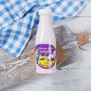 Йогурт черная смородина 2,5%