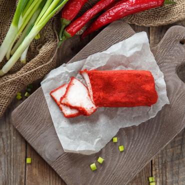 Сало соленое в перце чили