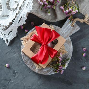 Мыло Панакота и кумкват в подарочной упаковке