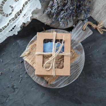 Мыло Лаванда с декором