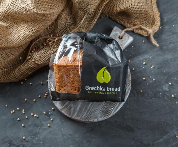 """Хлеб """"Зеленая гречка - чечевица"""""""