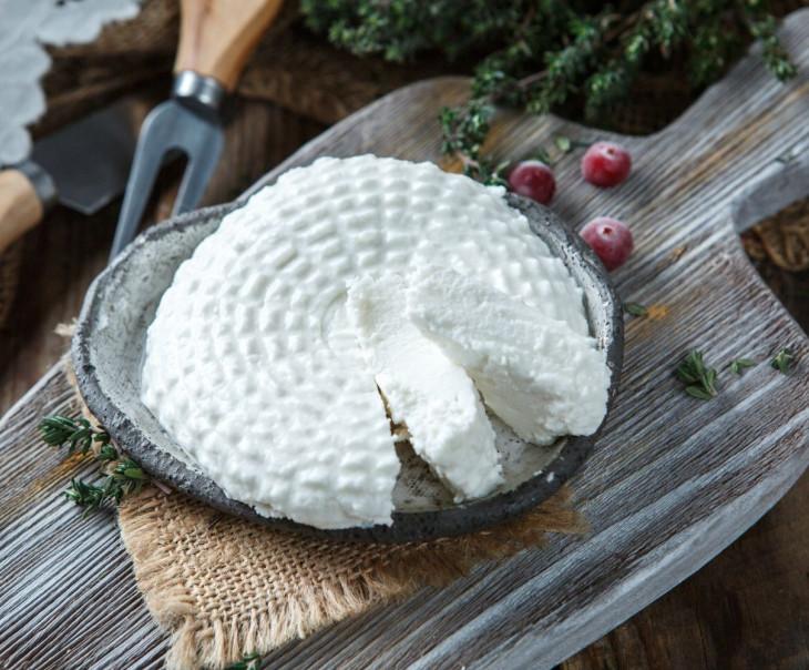 """Сыр """"Рикотта"""" из козьего молока"""