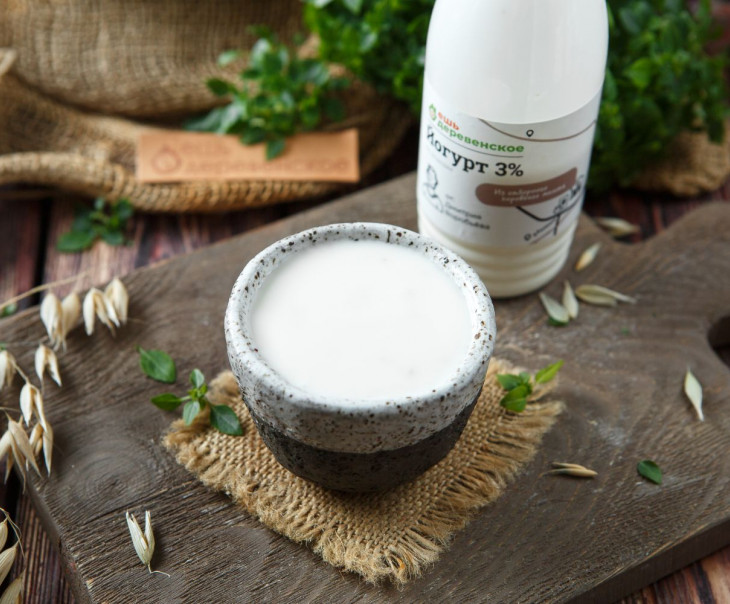 Йогурт со злаками