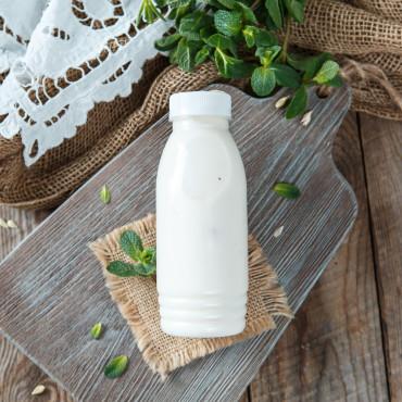 Йогурт с персиком