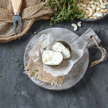 Сыр Белпер кнолле с прованскими травами из козьего молока