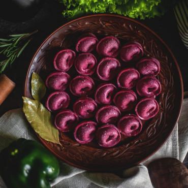 Мини-пельмени с телятиной и свининой