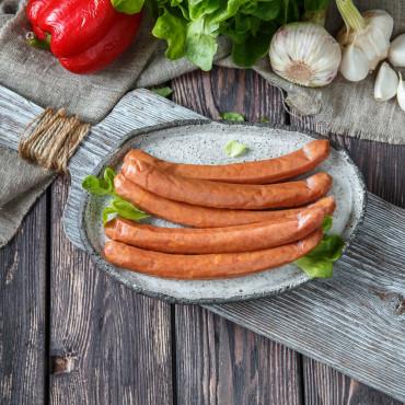 Колбаски свиные Охотничьи (домашние №4)