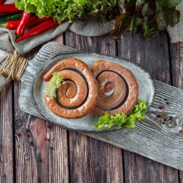 Колбаски свиные  гриль Люкс  (улитка)