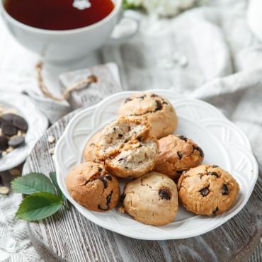 Печенье овсяное с шоколадом