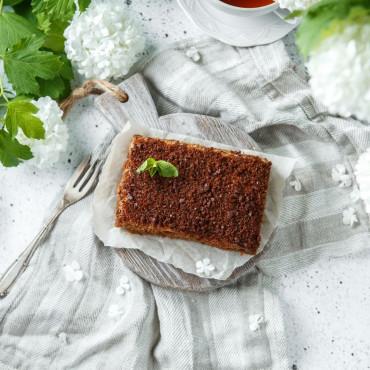 Торт медовик карамельный