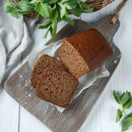 Хлеб бездрожжевой с солодом и медом на собственной закваске