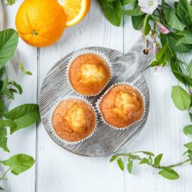 Маффины безглютеновые апельсиновые