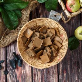 Пастила хрустящая из 4-х сортов яблок с углём