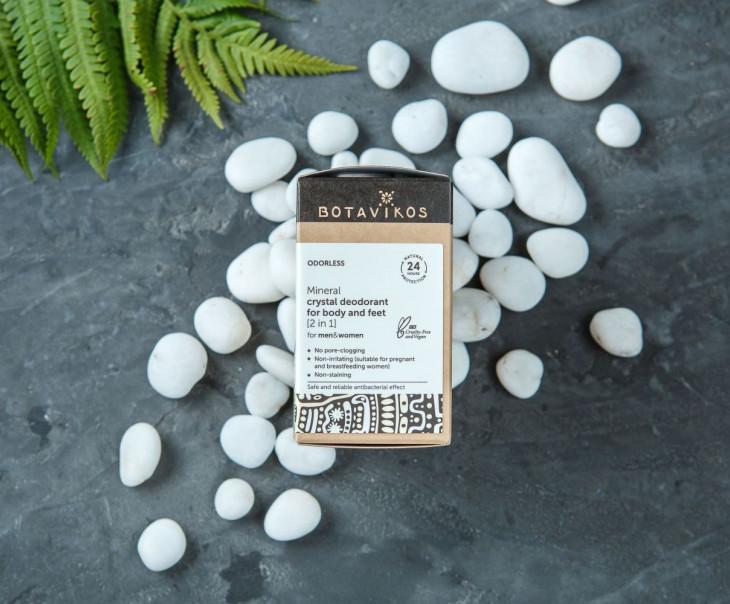 Минеральный дезодорант-кристалл для тела и ног