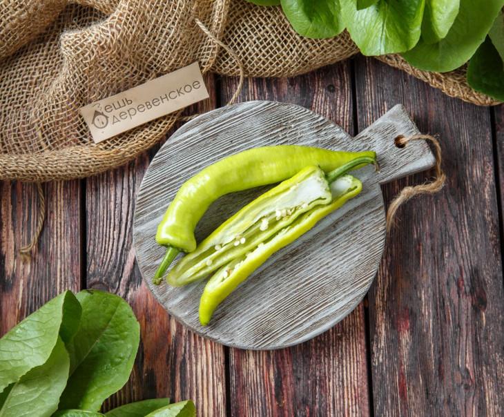 Перец зелёный острый