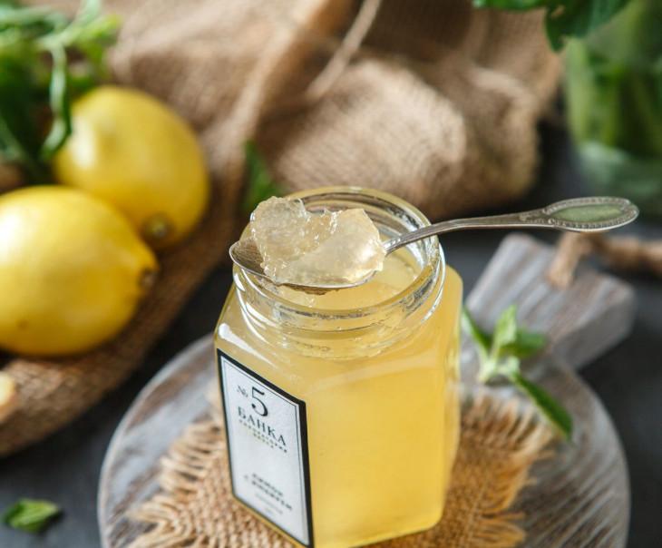"""Мармелад """"Лимон с имбирем"""""""