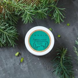 Маска для лица против высыпаний Зеленая глина с водорослями
