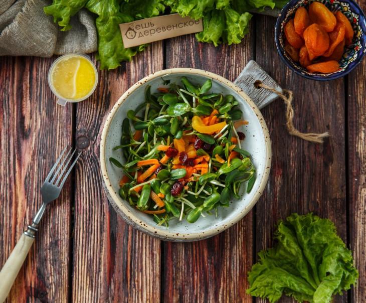 """Салат из микрозелени """"Фрутми"""""""