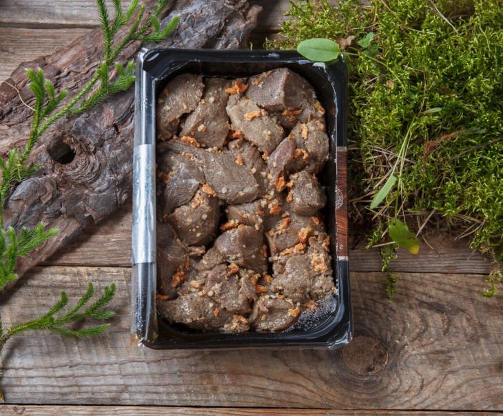Шашлык из мяса кабана