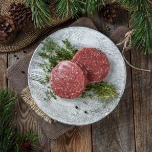 Котлеты для бургеров из мяса оленя