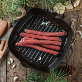 Колбаски для жарки из мяса оленя
