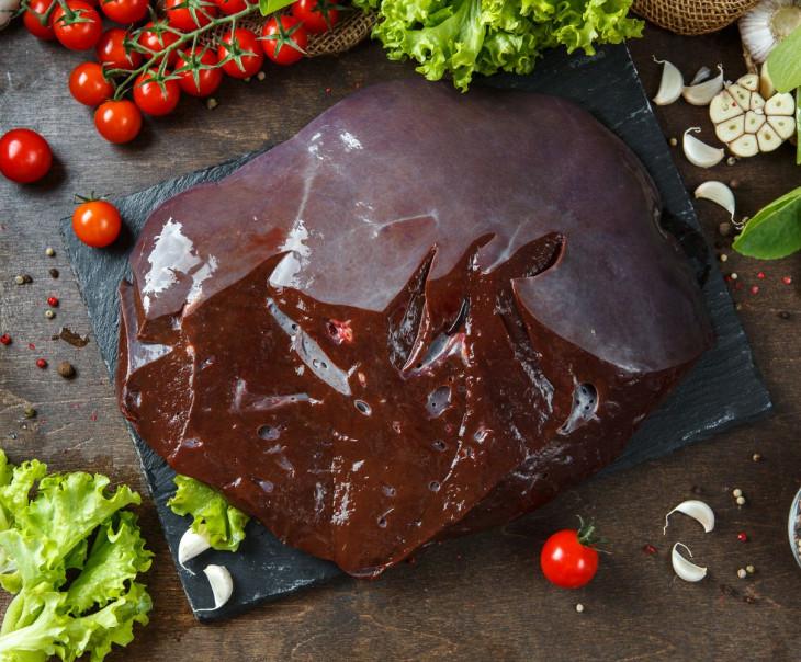Печень говяжья (замороженная)