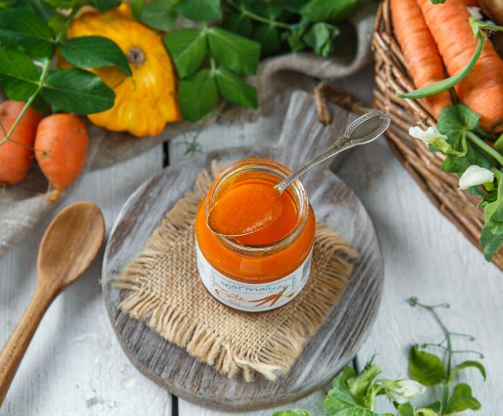 Пюре из моркови с 4-х месяцев