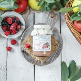Десерт Расти здоровый с йогуртом и ягодами с 8-ми месяцев