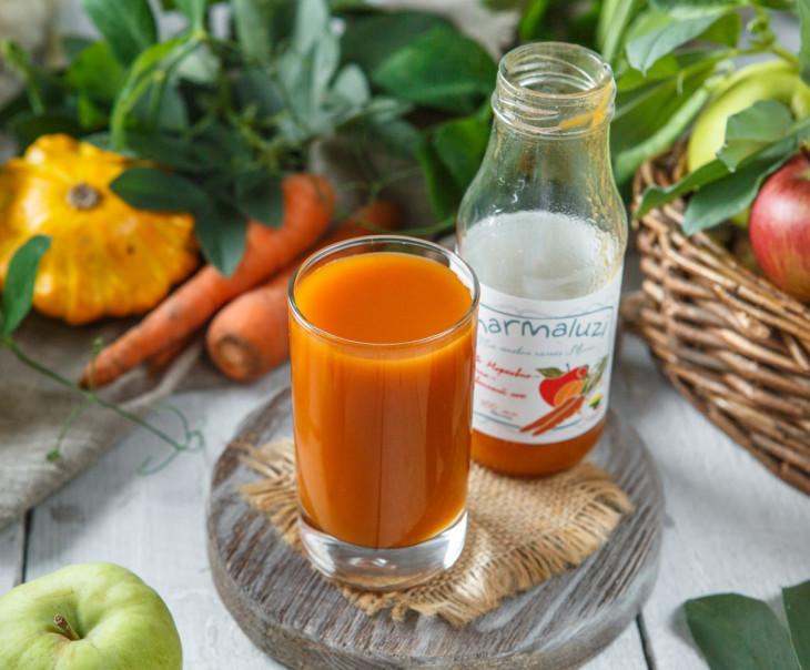 Морковно-яблочно-тыквенный сок с 6-ти месяцев