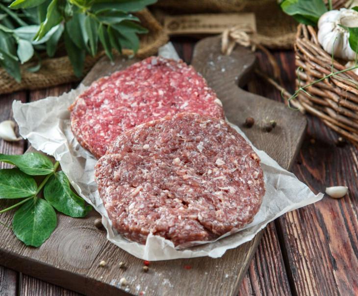 Котлеты бургерные из говядины