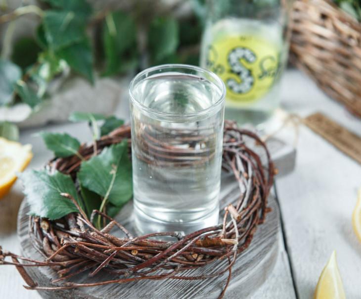Сок березовый с лимонным соком