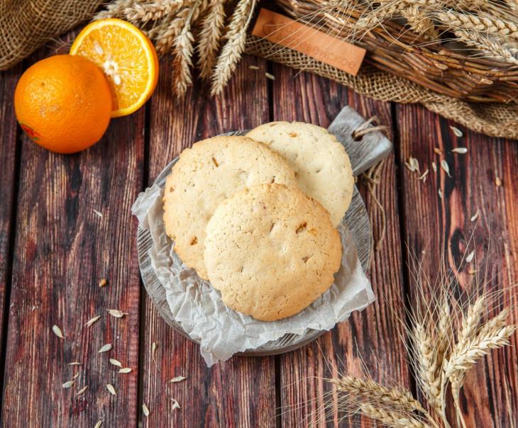 Печенье лимонное с апельсином