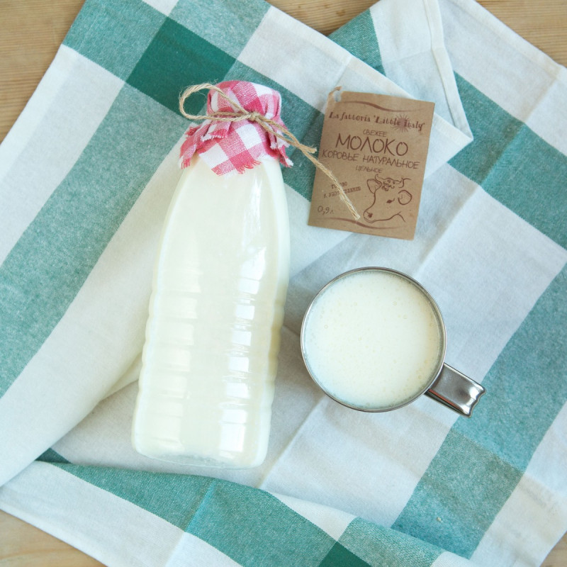 Молоко коровье 3,4 - 3,8 % от Пьетро Мацца<br><br>Вес мл.: 900
