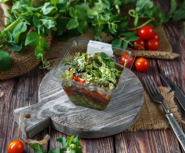 Салат с вяленой говядиной