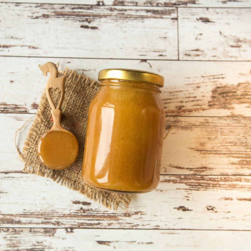 Мёд гречишный от Андрея Медведева<br><br>Вес г.: 400
