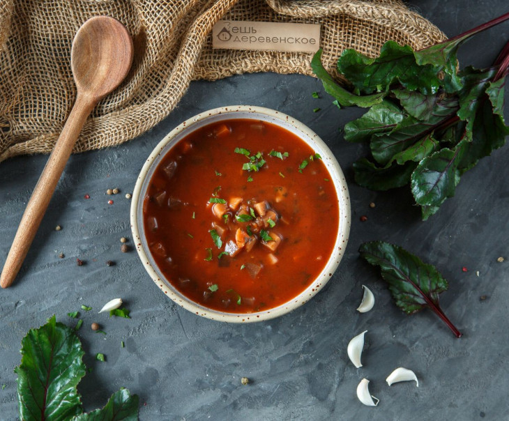 Органический суп Борщ
