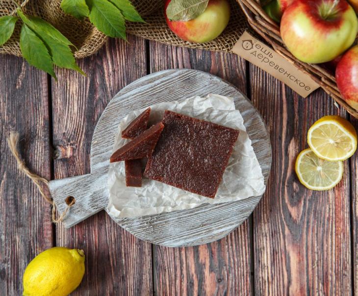 Мармелад из печеных яблок и лимона