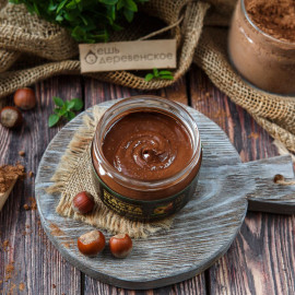 Паста шоколадно-фундучная