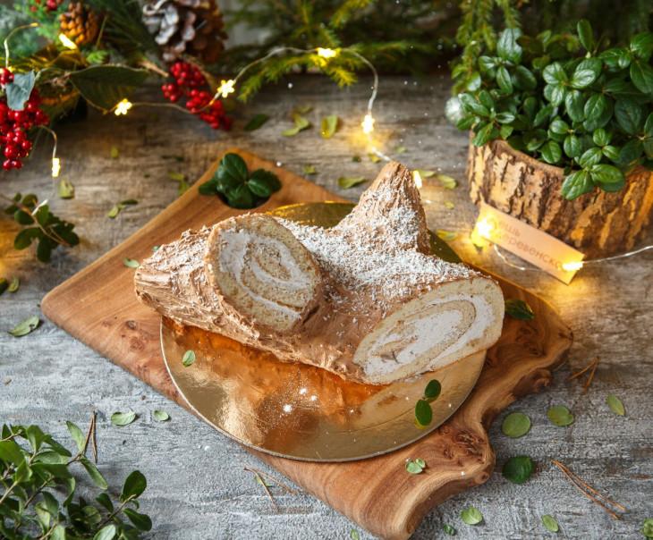 """Торт """"Рождественское полено"""""""