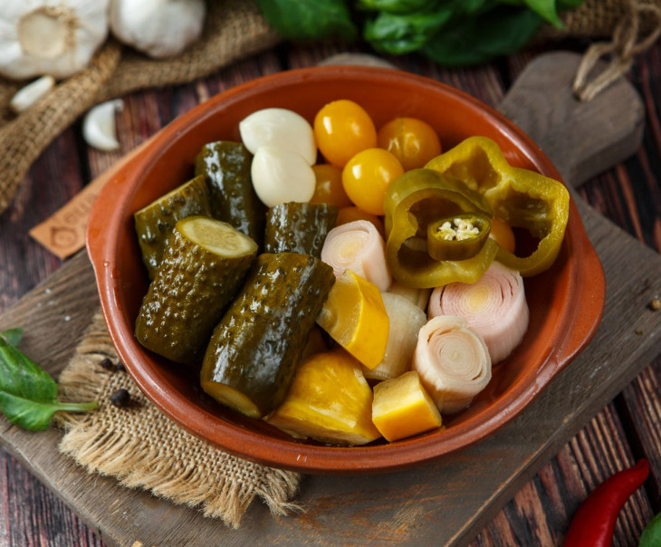 Ассорти овощное острое